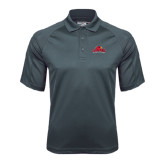 Charcoal Dri Mesh Pro Polo-Lamar University w/Cardinal Head