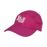 Pink Pace Setter Cap-Interlocking LU Tone