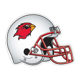 Football Helmet Magnet-Cardinal Head, 11 1/2 in W X 8 3/4 in H