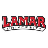 Extra Large Magnet-Lamar University w/Cardinal Head, 18 in W