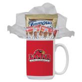 Cookies N Cocoa Gift Mug-Lamar University w/Cardinal Head