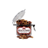 Deluxe Nut Medley Small Round Canister-Lamar University With Cardinal