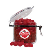 Sweet & Sour Cherry Surprise Round Canister-Lamar University With Cardinal