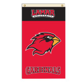 3 ft x 5 ft Flag-Cardinal Head