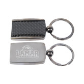 Corbetta Key Chain-Lamar University w/Cardinal Head Engraved