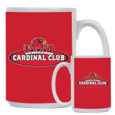 Full Color White Mug 15oz-Cardinal Club