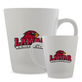 Full Color Latte Mug 12oz-Primary Mark