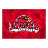Full Color Indoor Floor Mat-Lamar University w/Cardinal Head