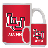 Alumni Full Color White Mug 15oz-Lamar University