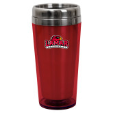 Solano Acrylic Red Tumbler 16oz-Primary Mark