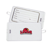 Luggage Tag-Lamar University w/Cardinal Head