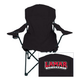 Deluxe Black Captains Chair-Lamar University