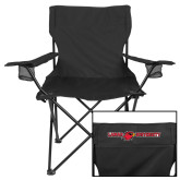 Deluxe Black Captains Chair-Lamar University Flat