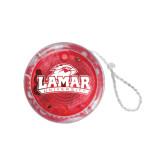 Light Up Red YoYo-Lamar University w/Cardinal Head