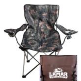 Hunt Valley Camo Captains Chair-Lamar University w/Cardinal Head