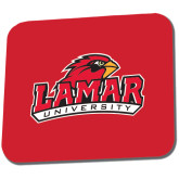 Full Color Mousepad-Lamar University w/Cardinal Head