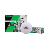 Nike Power Distance Golf Balls 12/pkg-Lamar University w/Cardinal Head