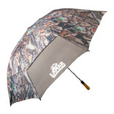 Hunt Valley Camo Umbrella-Lamar University w/Cardinal Head