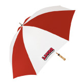 Red/White Umbrella-Lamar University