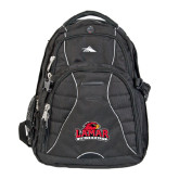 High Sierra Swerve Compu Backpack-Lamar University w/Cardinal Head