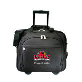 Embassy Plus Rolling Black Compu Brief-Lamar University w/Cardinal Head, Personalized