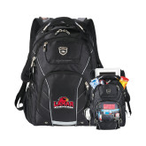 High Sierra Elite Fly By Compu Backpack-Lamar University w/Cardinal Head, Personalized