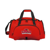 Challenger Team Red Sport Bag-Lamar University w/Cardinal Head
