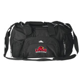 High Sierra Black Switch Blade Duffel-Lamar University w/Cardinal Head