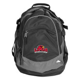 High Sierra Black Fat Boy Day Pack-Lamar University w/Cardinal Head