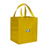 Non Woven Gold Grocery Tote-Explorers