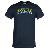 Navy T Shirt-La Salle Explorers