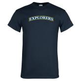 Navy T Shirt-Explorers