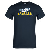 Navy T Shirt-La Salle