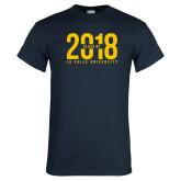 Navy T Shirt-Class of 2018