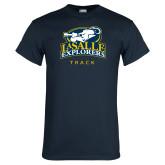 Navy T Shirt-Track & Field