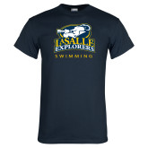 Navy T Shirt-Swim & Dive