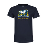 Youth Navy T Shirt-Swim & Dive