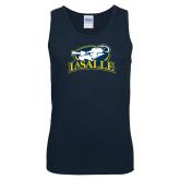 Navy Tank Top-La Salle