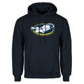 Navy Fleece Hoodie-Mascot