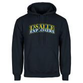 Navy Fleece Hoodie-La Salle Explorers