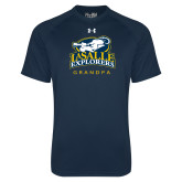 Under Armour Navy Tech Tee-Grandpa