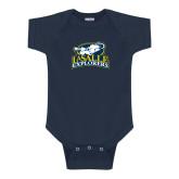 Navy Infant Onesie-Primary Mark