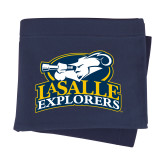 Navy Sweatshirt Blanket-Primary Mark