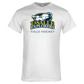White T Shirt-Field Hockey
