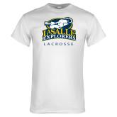 White T Shirt-Lacrosse