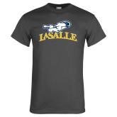 Charcoal T Shirt-La Salle
