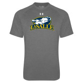 Under Armour Carbon Heather Tech Tee-La Salle
