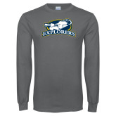 Charcoal Long Sleeve T Shirt-Explorers