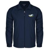 Full Zip Navy Wind Jacket-Mascot