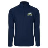 Sport Wick Stretch Navy 1/2 Zip Pullover-Primary Mark
